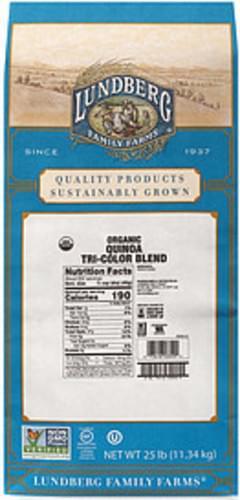 Lundberg Family Farms Lundberg Family Farms Organic Quinoa Tri-Color Blend Organic Tri-Color Blend