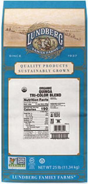 Lundberg Family Farms Organic Tri-Color Blend Lundberg Family Farms Organic Quinoa Tri-Color Blend - 0