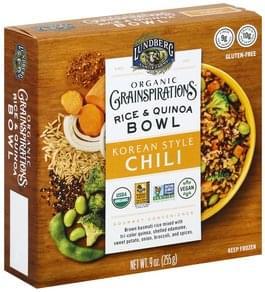 Lundberg Rice & Quinoa Bowl Organic, Korean Style Chili