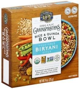 Lundberg Rice & Quinoa Bowl Organic, Vegetable Biryani Style