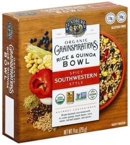 Lundberg Rice & Quinoa Bowl Organic, Spicy Southwestern Style
