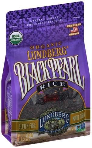 Lundberg Organic, Black Pearl Rice - 16 oz