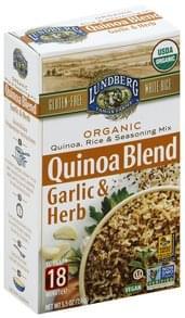 Lundberg Quinoa, Rice & Seasoning Mix Organic, Garlic & Herb