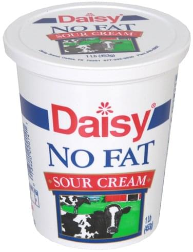 Daisy No Fat Sour Cream - 1 lb
