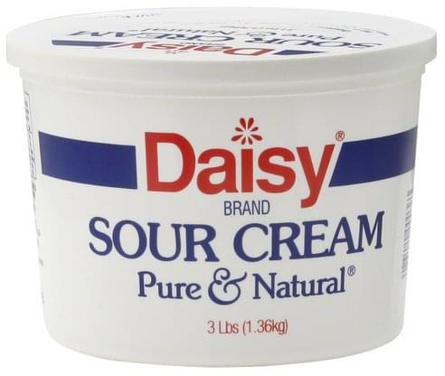 Daisy Sour Cream - 3 lb