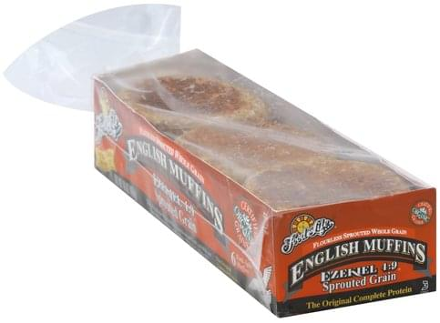 Food For Life Sprouted Grain English Muffins - 6 ea