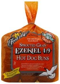 Food For Life Hot Dog Buns Sprouted Grain