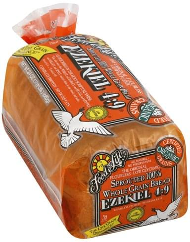 Food For Life Sprouted 100% Whole Grain Bread - 24 oz