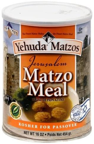 Yehuda Matzos Matzo Meal - 16 oz