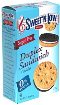 Sweet N Low Duplex Sandwich Cookies, Sugar Free