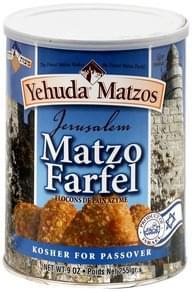 Yehuda Matzos Matzo Farfel