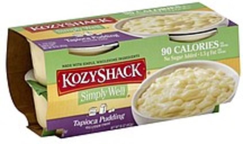 Kozy Shack Tapioca Pudding - 4 ea
