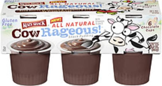 Cowrageous! Pudding Chocolate Snack