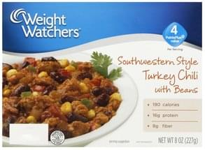 Weight Watchers Turkey Chili with Beans Southwestern Style