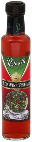 Pastorelli Red Wine Vinegar - 8.5 oz