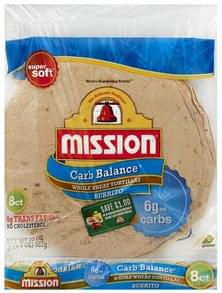 Mission Tortillas Whole Wheat, Burrito