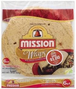 Mission Wraps Sun-Dried Tomato Basil