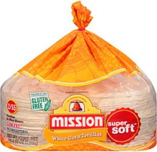 Mission Tortillas White Corn