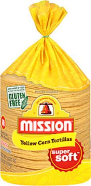 Mission Yellow Corn Tortillas - 4.16 lb