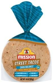 Mission Tortillas Whole Wheat, Carb Balance