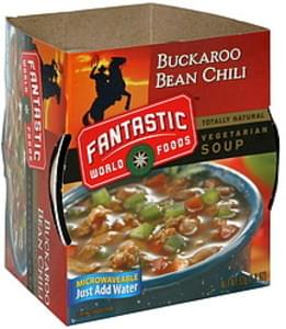 Fantastic Foods Vegetarian Soup Buckaroo Bean Chili