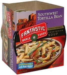 Fantastic Foods Vegetarian Soup Southwest Tortilla Bean
