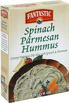 Fantastic Foods Creamy Hummus Dip Mix Spinach Parmesan