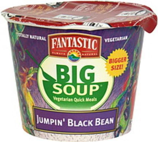 Fantastic Foods Jumpin' Black Bean Soup - 3.4 oz