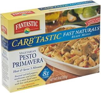 Fantastic Foods Fast Naturals Ready Meals Vegetarian Pesto Primavera