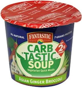 Fantastic Foods Vegetarian Quick Meals Asian Ginger Broccoli