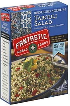 Fantastic World Foods Tabouli Salad Reduced Sodium