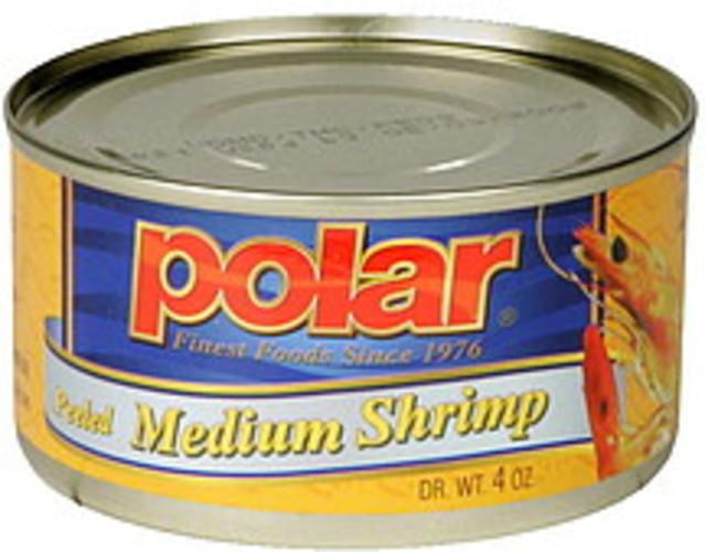 Polar Peeled Medium Shrimp - 4 oz