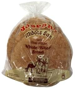 Josephs Whole Wheat Bread Middle East