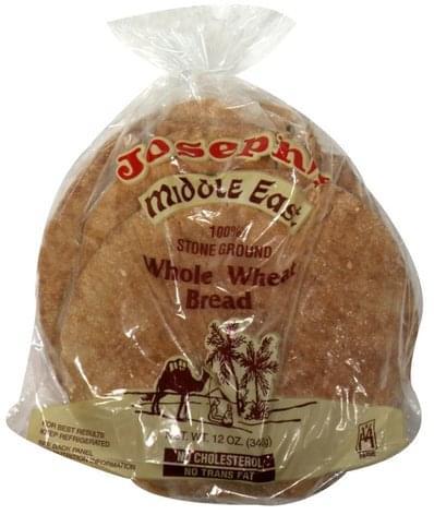 Josephs Middle East Whole Wheat Bread - 12 oz