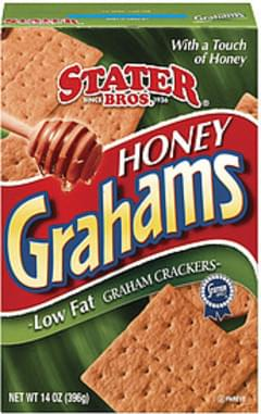 Stater Bros. Graham Crackers Honey Low Fat