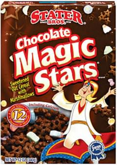 Stater Bros. Cereal Chocolate Magic Stars