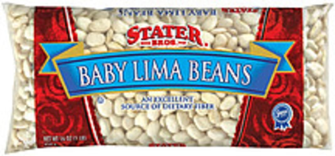 Stater Bros. Baby Lima Beans - 16 oz