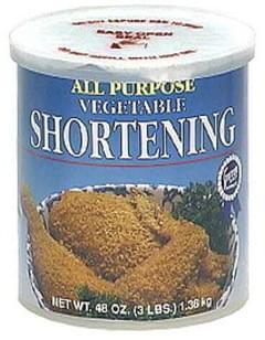 Stater Bros All Purpose Vegetable Shortening