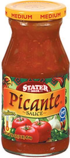 Stater Bros. Picante Sauce Medium