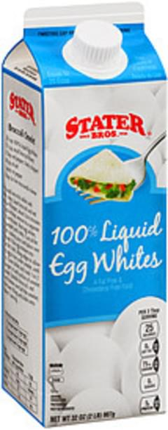 Stater Bros. Egg Whites 100% Liquid