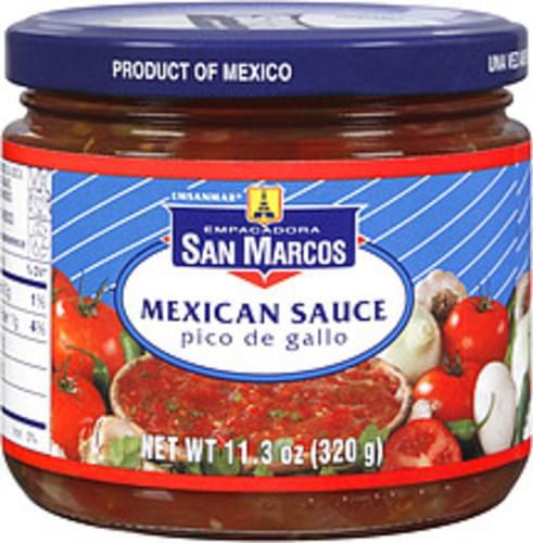 Empacadora San Marcos Pico De Gallo Mexican Sauce - 11.3 oz
