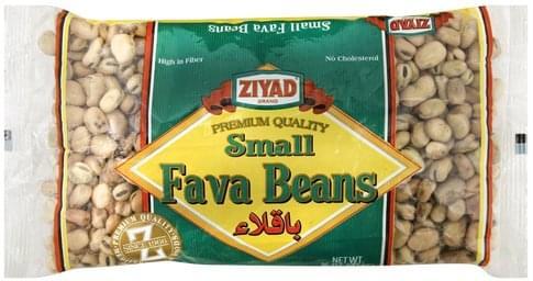 Ziyad Small Fava Beans - 16 oz