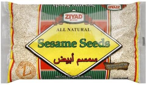 Ziyad Sesame Seeds - 16 oz