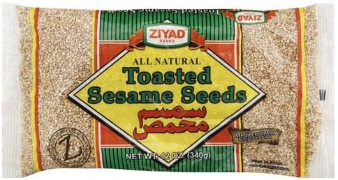 Ziyad Toasted Sesame Seeds - 12 oz