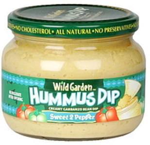 Wild Garden Hummus Dip Sweet 2 Pepper