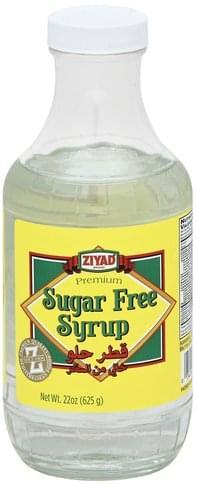 Ziyad Sugar Free Syrup - 22 oz