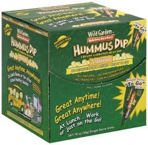 Wild Garden Hummus Dip Traditional, To Go Packs