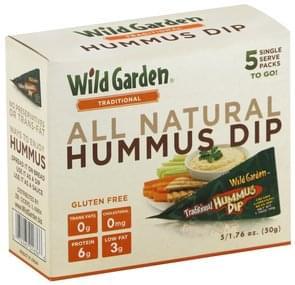 Wild Garden Traditional Hummus Dip Wild Garden