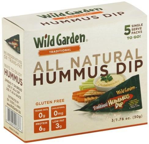 Wild Garden Wild Garden Traditional Hummus Dip - 5 ea
