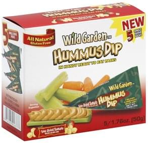 Wild Garden Hummus Dip Sun-Dried Tomato with Olive Oil
